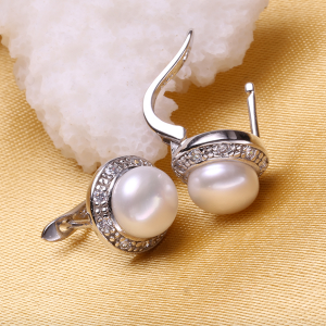 white pearls with cz micro pave setting in sterling silver Sale - 1A 1 300x300 - Sale
