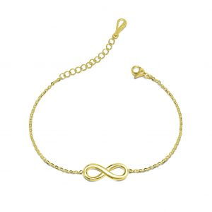 gold infinity bracelet azure chic bracelet with meaning - infinity bracelet azure chic 300x300 - Bracelets with Meaning