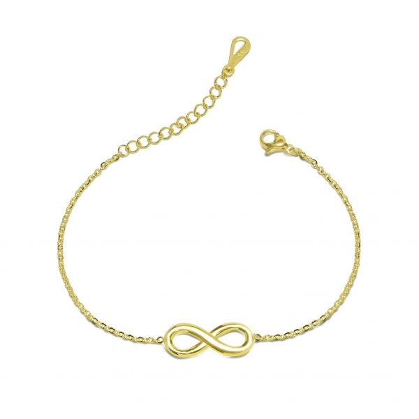 gold infinity bracelet azure chic online jewellery shop - infinity bracelet azure chic 600x600 - The best online jewellery shop