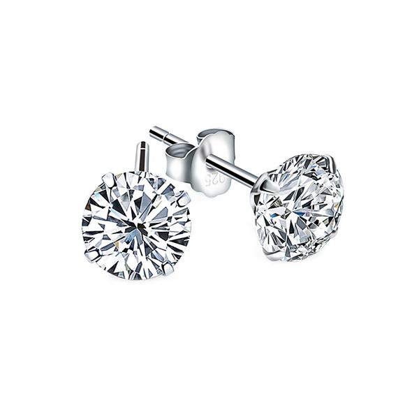 Cubic Zirconia Earrings, CZ Earrings stud earrings - 17 - Stud Earrings