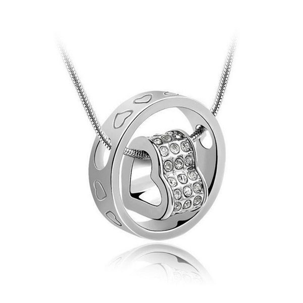 sterling silver heart necklace online jewellery shop - 19 - Meaningful Necklace For Her