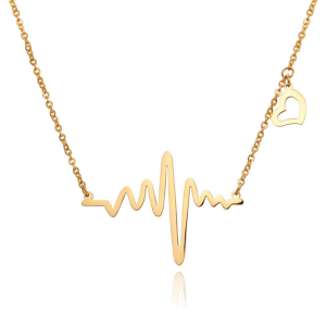 heartbeat gold plated pendant necklace online jewellery shop - 20A 300x300 - Meaningful Necklace For Her