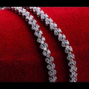 cubic zirconia sterling silver bracelet bracelet with meaning - 9A 300x300 - Bracelets with Meaning