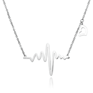 heartbeat-silver-necklace online jewellery shop - heartbeat silver necklace 300x300 - Meaningful Necklace For Her