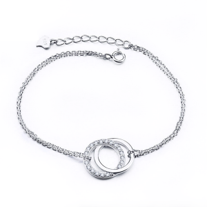 double-ring-silver-bracelet online jewellery shop - double ring silver bracelet 300x300 - The best online jewellery shop