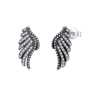 Majestic-Feathers-silver-earrings online jewellery shop - Majestic Feathers silver earrings 1 300x300 - The best online jewellery shop