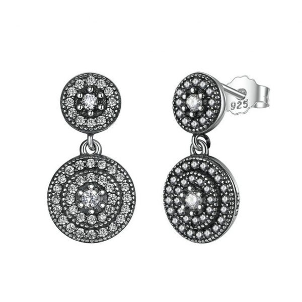 Earrings for Women bridal jewellery - Radiant Elegance Silver Drop Earrings 600x600 - Bridal Jewellery – Jewellery for your Wedding