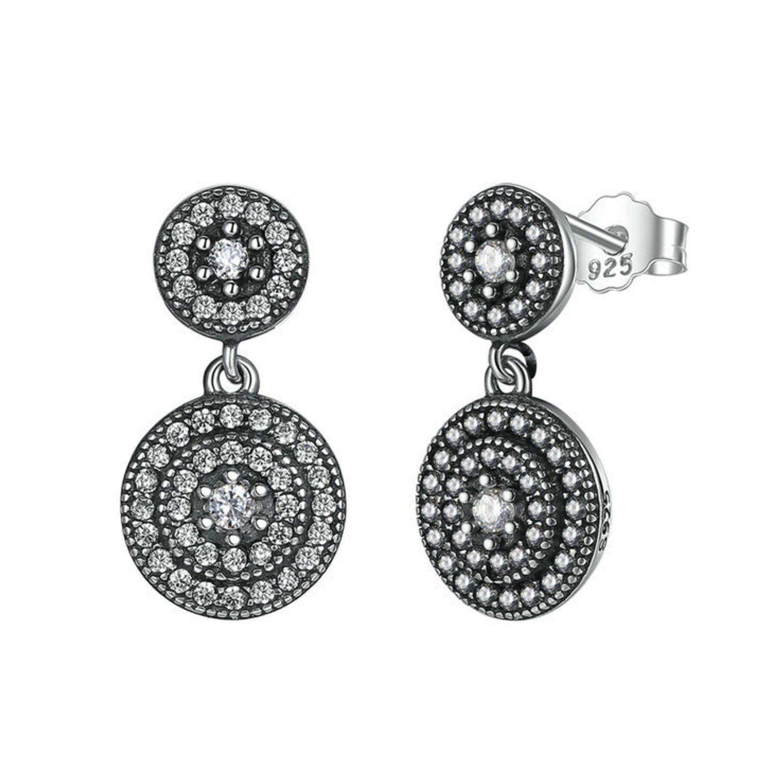 db4c1b0fa Radiant Elegance Sterling Silver Earrings - Jewellery, UK Jewellery ...