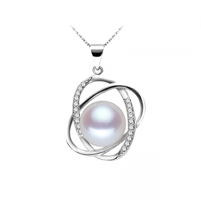 pearl-zirconia-sterling-silver-pendant-necklace