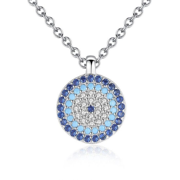 CZ-Crystal-Blue-Evil-Eye-Pendant-925-Sterling-Silver-Necklace-for-Women