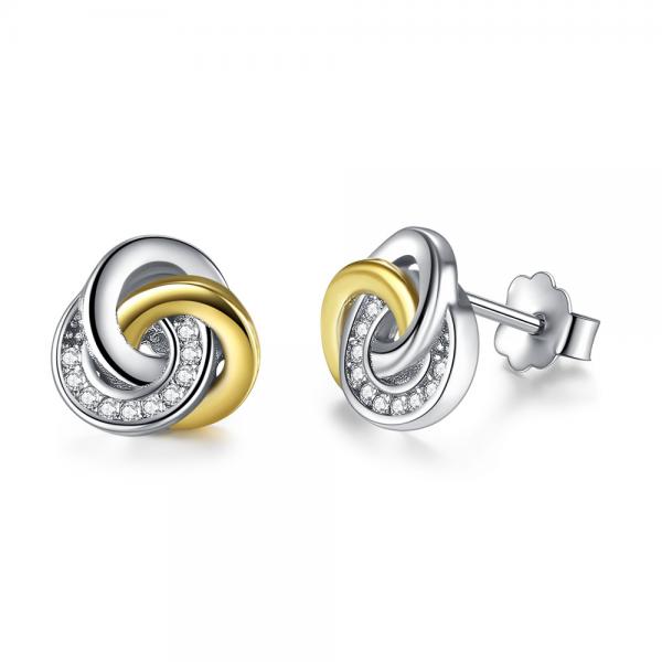 online jewellery shop - Love Knot Stud Earrings 600x600 - The best online jewellery shop
