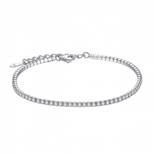Sterling-Silver-Bracelet-with-Cubic-Zirconia bracelet with meaning - Sterling Silver Bracelet with Cubic Zirconia 300x300 - Bracelets with Meaning