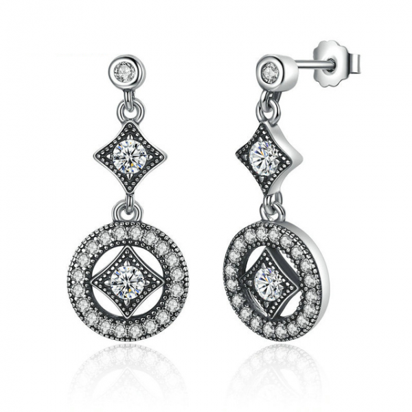 Vintage-Allure-Drop-Sterling-Silver-Earrings-Cyprus-jewellery