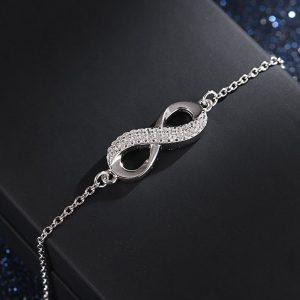 infinity-sterling-silver-bracelet-jewellery-cyprus online jewellery shop - infinity sterling silver bracelet jewellery cyprus 300x300 - The best online jewellery shop