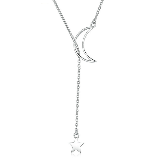 Moon-and-Star-Chain-Necklace