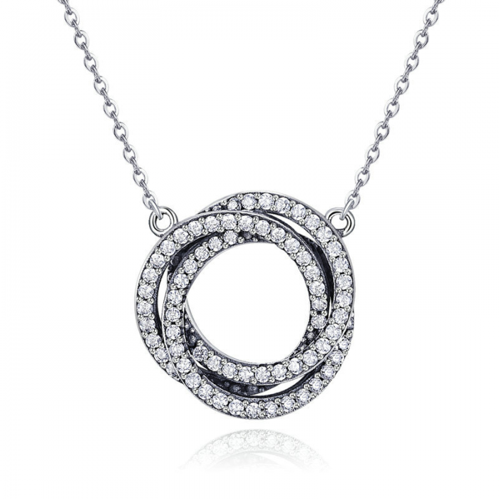 silver-circles-necklace-jewellery-cyprus