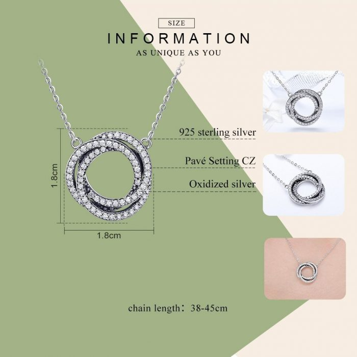 silver-circles-necklace-jewellery-cyprus nicosia