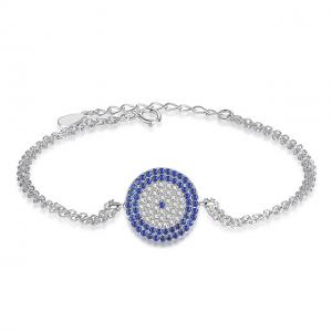 jewellery-Silver-Blue-Evil-Eye-Cubic-Zircon-Bracelet-jewellery-cyprus