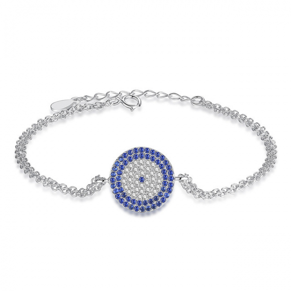 jewellery-Silver-Blue-Evil-Eye-Cubic-Zircon-Bracelet-jewellery-cyprus bracelet with meaning - jewellery Silver Blue Evil Eye Cubic Zircon Bracelet jewellery cyprus 600x600 - Bracelets with Meaning