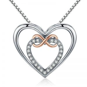 online jewellery shop - Infinity heart necklace 300x300 - Meaningful Necklace For Her