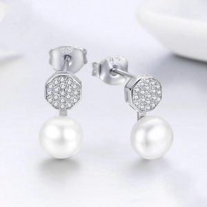 Online Jewellery Shopping online jewellery shop - Sparkling Hexagon Pearl Earrings Cyprus 300x300 - The best online jewellery shop