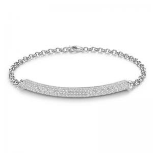 Zirconia-Sterling-Silver-Bracelet-Azure-Chic-Jewellery