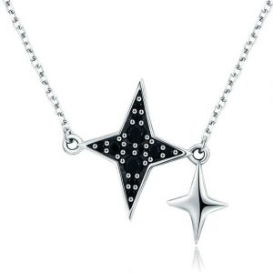 online jewellery shop - Black star necklace 300x300 - The best online jewellery shop
