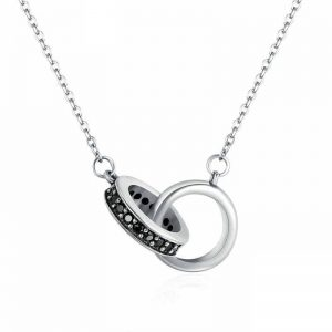 Circles-Silver-Necklace-with-Zirconia