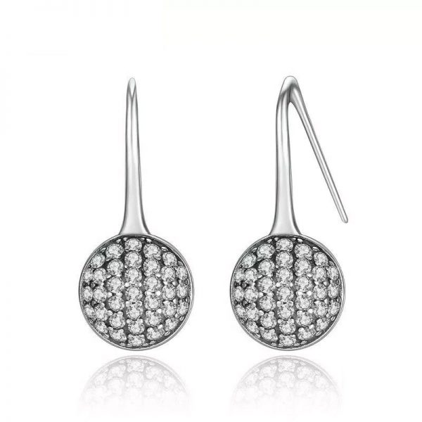 Dazzling Full moon Earrings