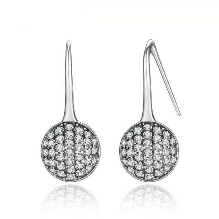 Dazzling Full moon Earrings