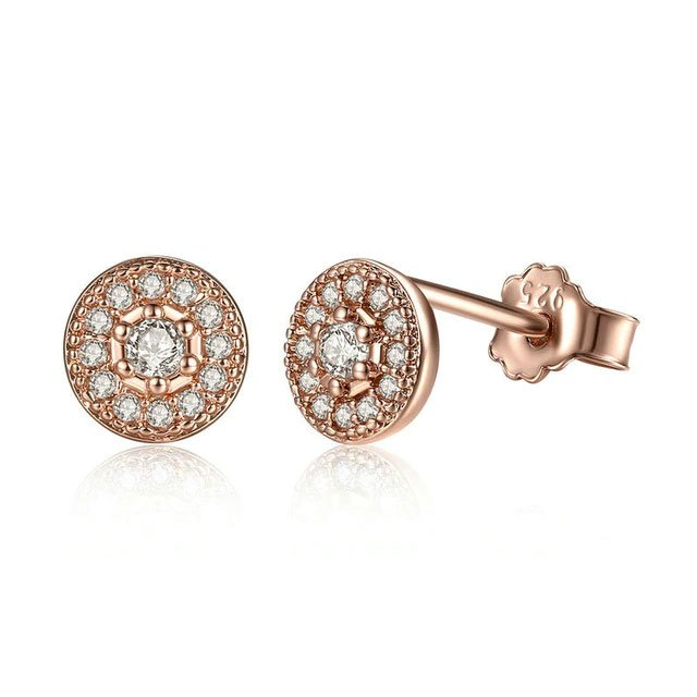 Round-Stud-Earrings