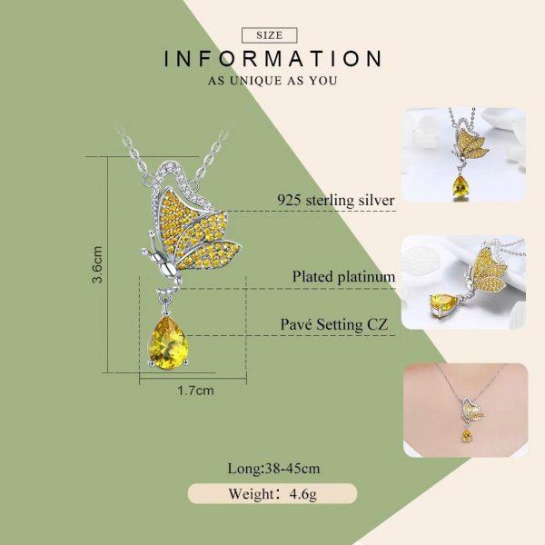 Online Jewellery Shopping online jewellery shop - Butterfly Chic Necklace jewellery 600x600 - The best online jewellery shop