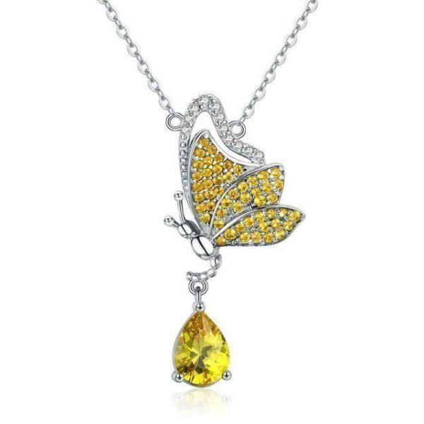 Online Jewellery Shopping online jewellery shop - Butterfly Necklace 600x600 - The best online jewellery shop