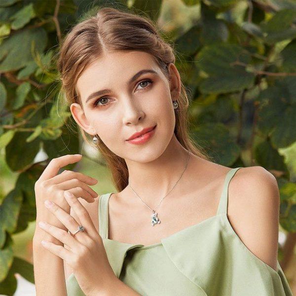 Online Jewellery Shopping online jewellery shop - Cute bear necklace silver jewellery 600x600 - The best online jewellery shop