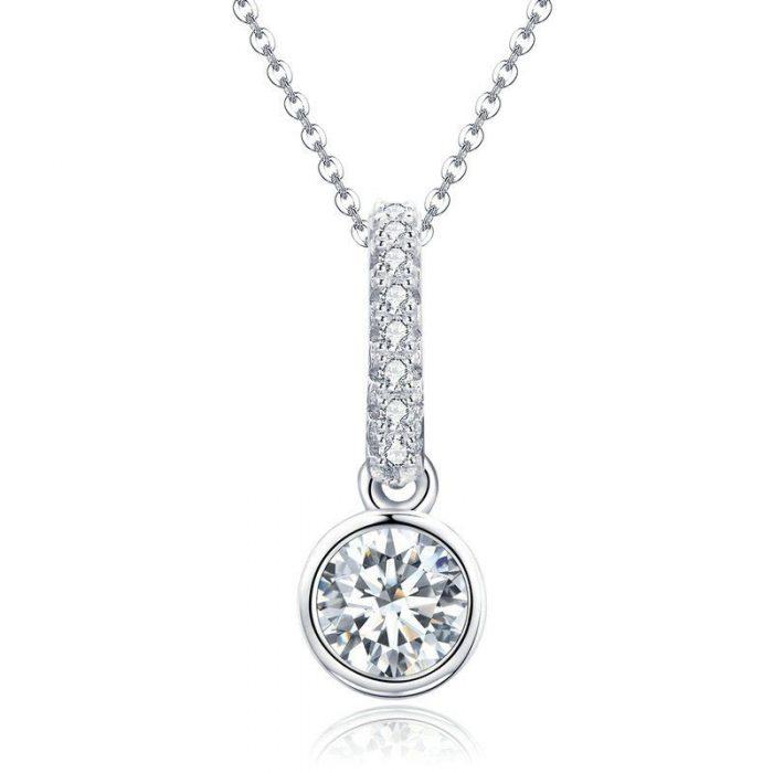 Geometric Round Necklace