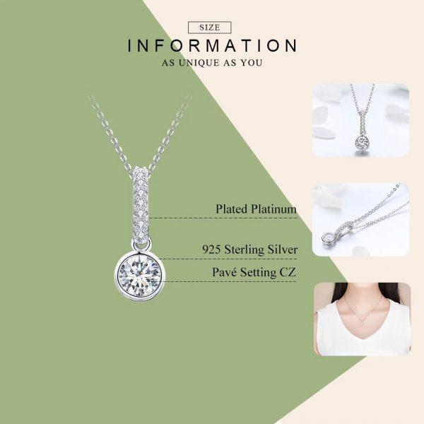 Geometric Round Necklace Jewellery