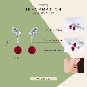 Red-Fruit-Drop-Earrings-red-crystal