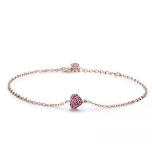 rose-gold-heart-charm-bracelet bracelet with meaning - rose gold heart charm bracelet 300x300 - Bracelets with Meaning