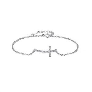 sterling-silver-cross-bracelet jewellery shop - sterling silver cross bracelet 300x300 - Jewellery, UK Jewellery Shops & Online Jewellery Store | Azurechic
