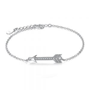 arrow cubic zirconia bracelet