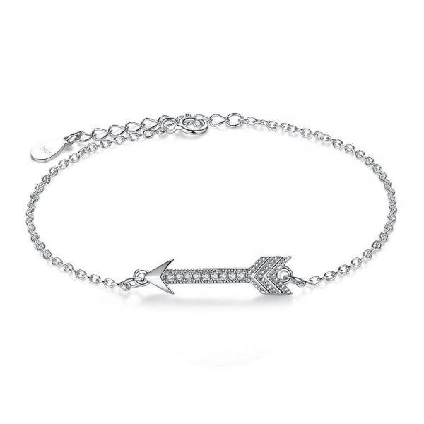 arrow cubic zirconia bracelet