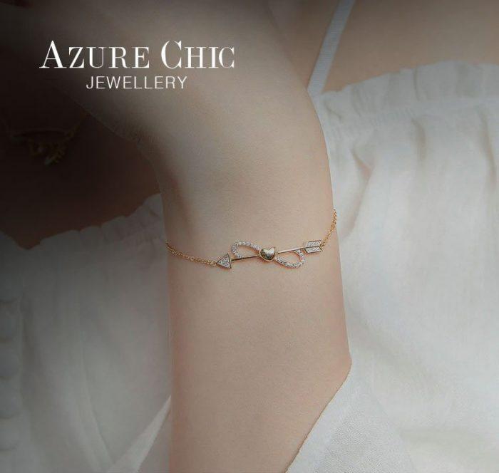 azurechic-gold-infinity-bracelet