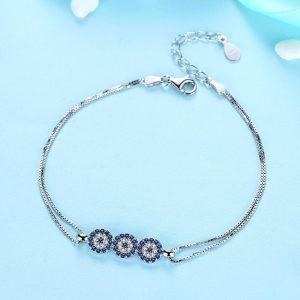 bracelet with meaning - evil eye bracelet evil eye azure chic  300x300 - Bracelets with Meaning