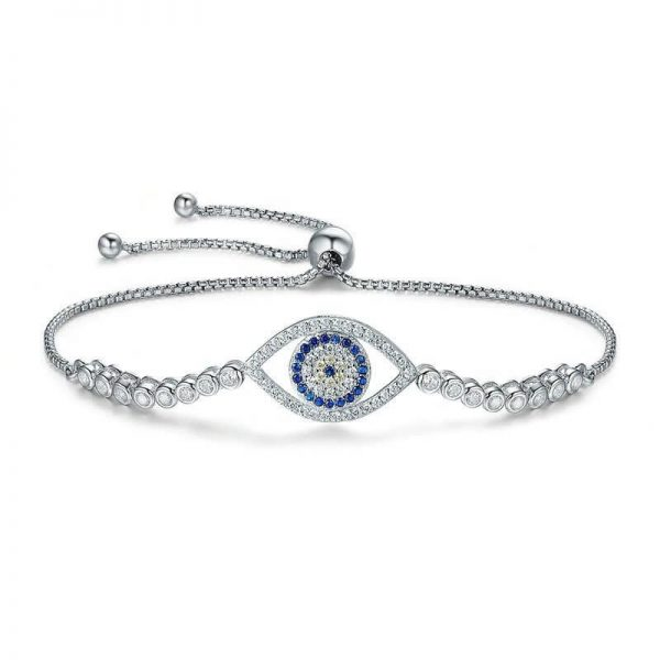 evil-eye-bracelet-uk-sterling-silver jewellery shop - evil eye bracelet uk sterling silver 600x600 - Jewellery, UK Jewellery Shops & Online Jewellery Store | Azurechic