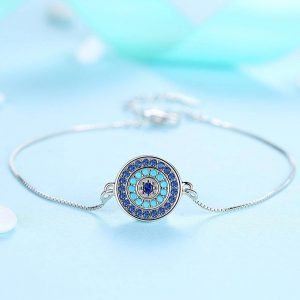 bracelet with meaning - evil eye bracelet uk sterling silver jewellery evil eye bracelet uk 300x300 - Bracelets with Meaning
