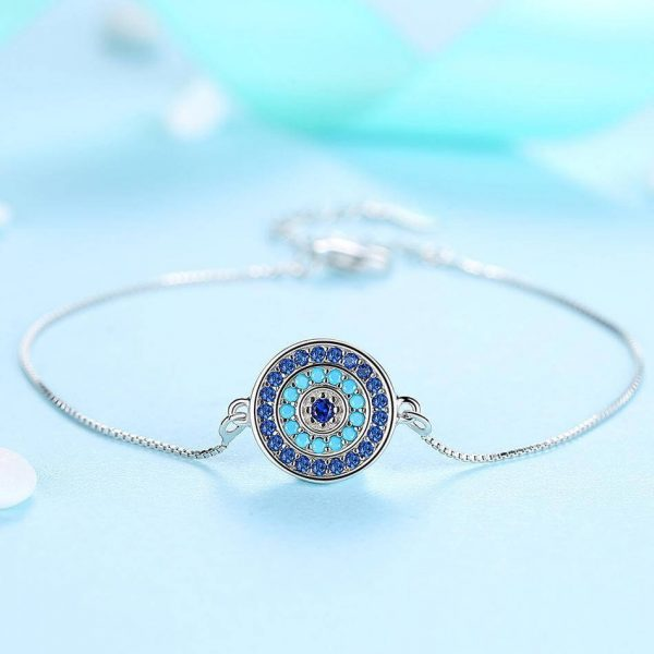 bracelet with meaning - evil eye bracelet uk sterling silver jewellery evil eye bracelet uk 600x600 - Bracelets with Meaning
