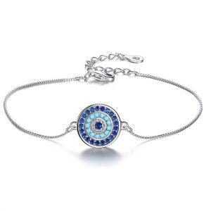 evil eye bracelet uk sterling silver jewellery evil eye silver bracelet