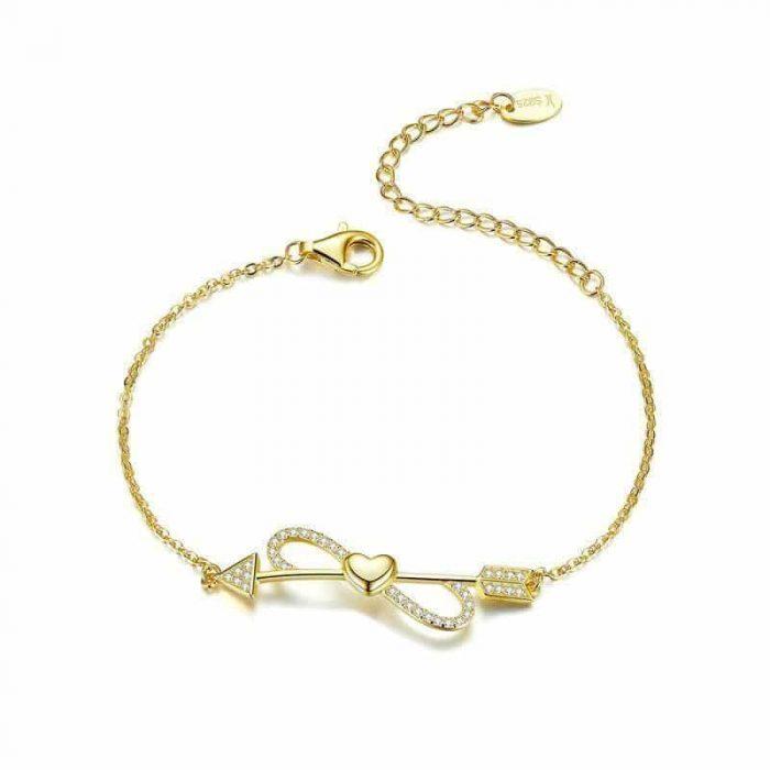 gold-infinity-bracelet
