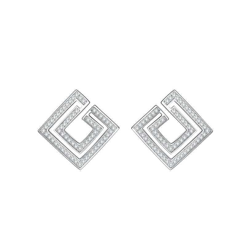 Ancient Greece Earrings  - ancient greece motivo stud earrings online jewellery shopping 1 - Ancient Greece Earrings