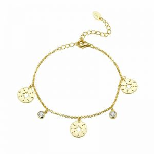 Glimpse Gold Bracelet jewellery shop - glimpse gold bracelet 300x300 - Jewellery, UK Jewellery Shops & Online Jewellery Store | Azurechic